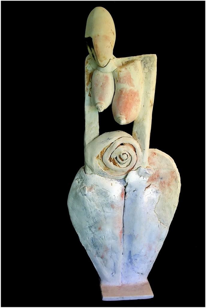 PRINCESSE ALDANE, 2009 céramique polie, cirée (87x37x16cm) Inv. 00018