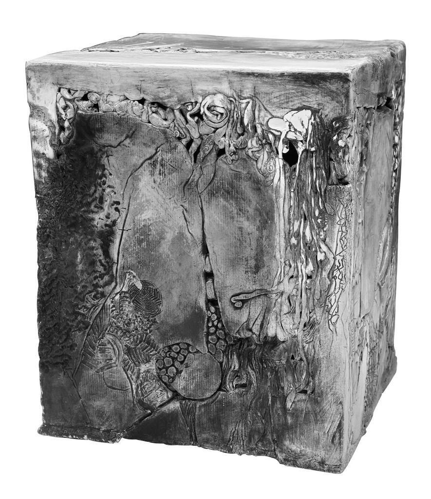 SAVANE, 2012 céramique polie, cirée (32x28x28cm) Inv. 00020