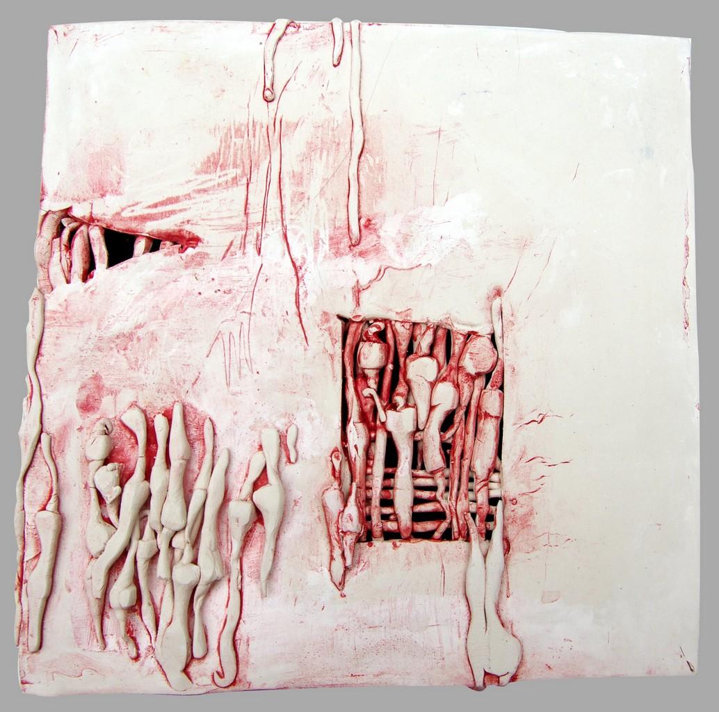 REPOS, 2012 céramique polie, cirée (22x23x24cm) Inv. 00004