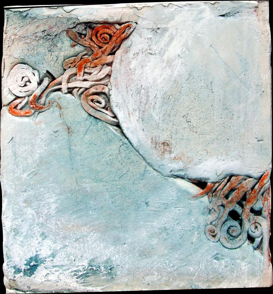 VOYAGE, 2012 céramique polie, cirée (21x22x21cm) Inv. 00005 vendu