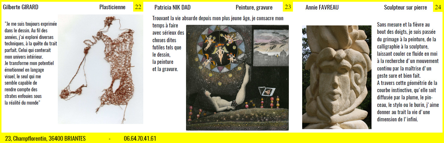 Gilberte-Patricia-Annie