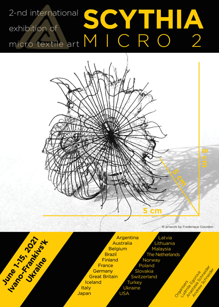 2021 – EXHIBITION MICRO TEXTILE ART  «Scythia» – UKRAINE