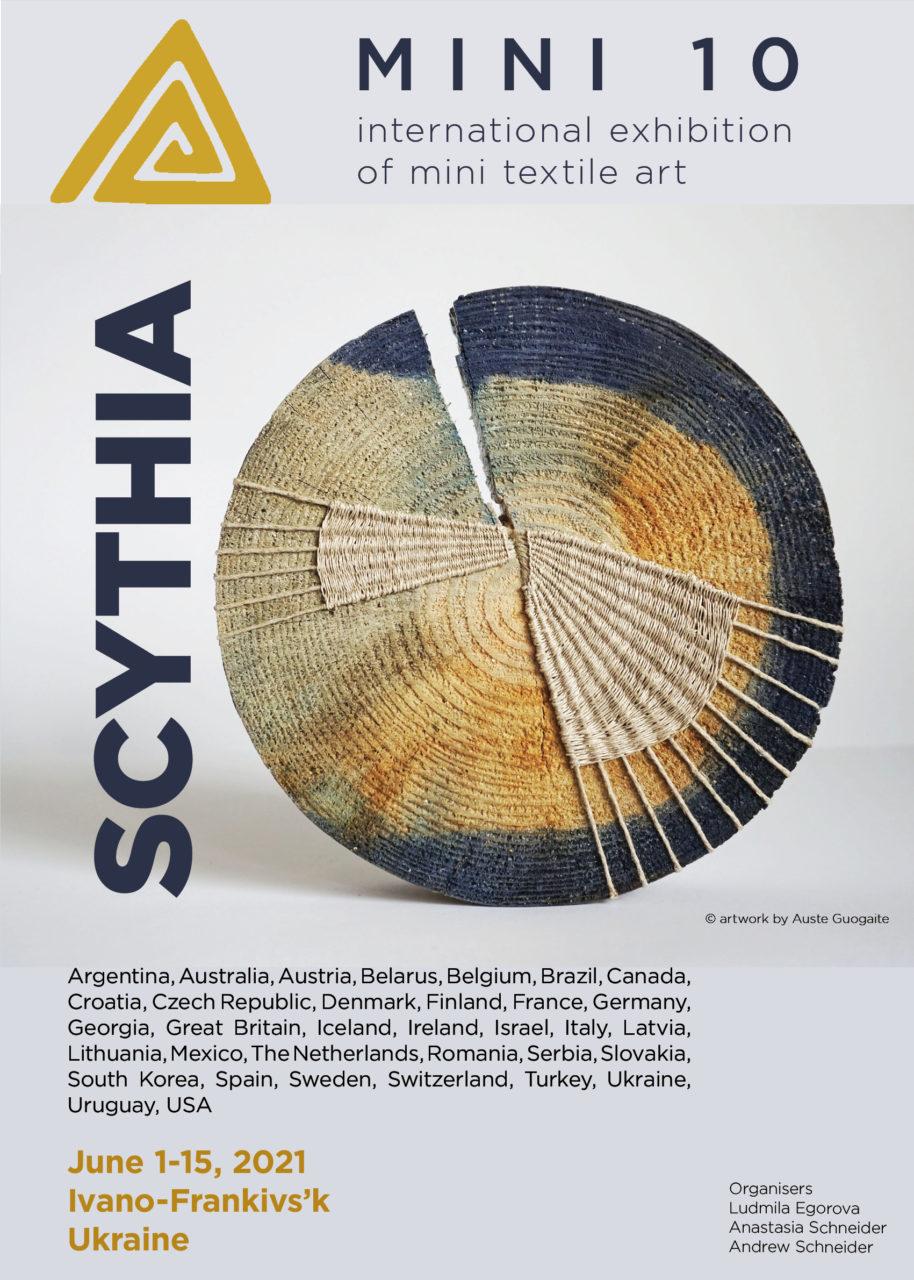 2021 – EXHIBITION MINI TEXTILE ART  «Scythia» – UKRAINE
